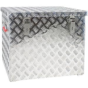 Aluminium Riffelblechbox (120L)   Kundenbewertung und weitere Informationen