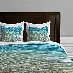 DENY Designs Shannon Clark Ombre Sea Duvet Cover, Queen