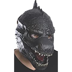 Rubies Costume Mens Godzilla Adult 3/4 Vinyl Mask