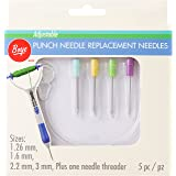 Boye 3722010000 Punch Needle Replacement-Set of 4, 4 Count