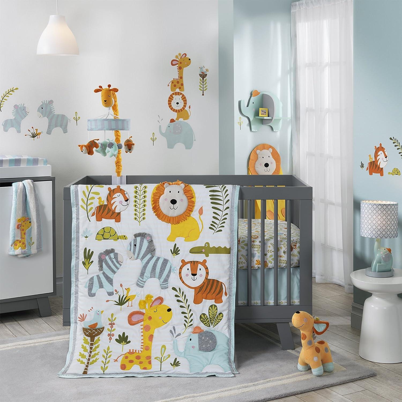 Lambs and Ivy Dena Happi Jungle Crib Bedding