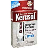 Kerasal Fungal Nail Renewal Treatment 10ml, Restores the healthy appearance of nails discolored or damaged by nail fungus.