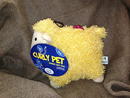 Curly Pets Sheep Happy Pet Curly Pet Dog Toy