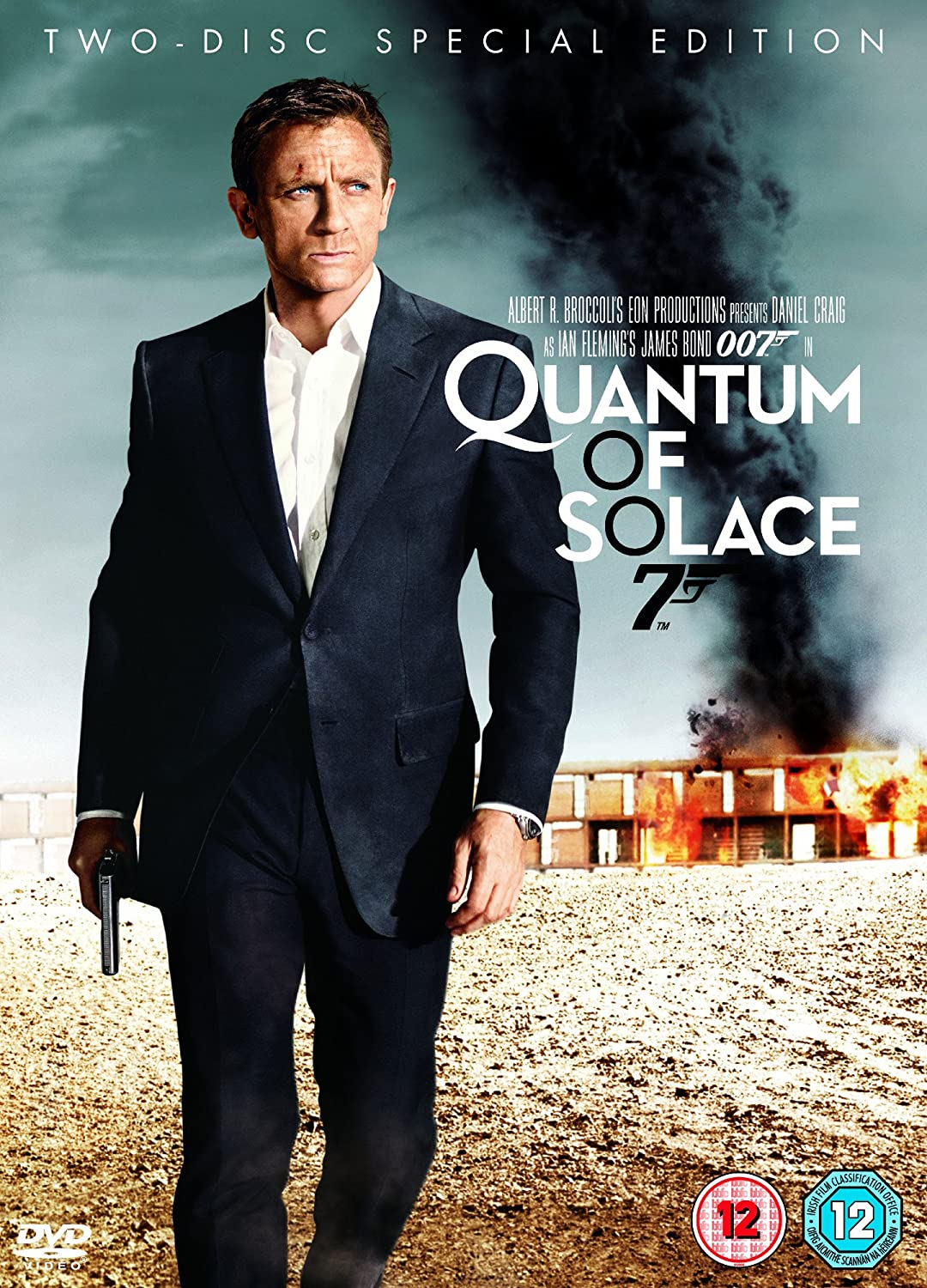 Quantum of Solace Two-Disc Special Edition DVD 2008: Amazon.co.uk ... Quantum Of Solace Cover