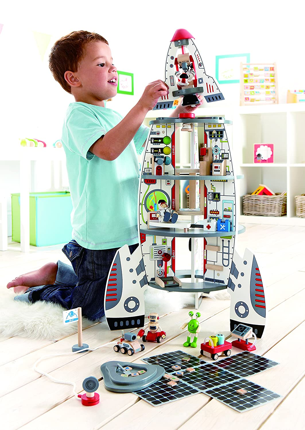 Spaceship Toys For Boys : Space station playset wood pics about