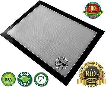 tapis de cuisson cuisson en silicone et fibre de verre verre antid rapant. Black Bedroom Furniture Sets. Home Design Ideas