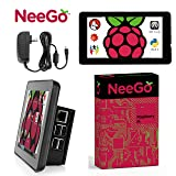 Raspberry Pi 3 B+ (B Plus) Display Kit Set Includes 7 Touchscreen Power Supply Official Case