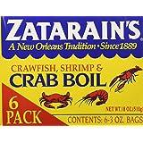 Zatarain's Crab Boil Six 3oz Bags (Tamaño: 6-3 Oz Bags (18 Oz.))