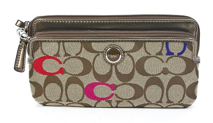Poppy Double Zip Wallet Double Zip Wallet