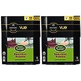 32 Count - Green Mountain Fair Trade Organic Sumatran Reserve Coffee Vue Cup For Keurig Vue Brewers (Color: Green)