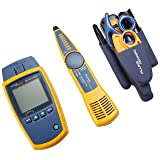 Fluke Networks MS2-TTK MicroScanner2 Network Cable Tester Kit with Punch Down Tool and Tone Generator and Probe (Tamaño: MS2-TTK w/Punch Down & Tone and Probe)
