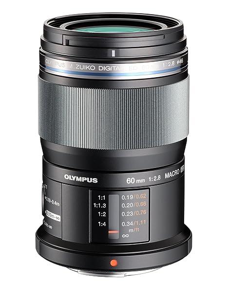Olympus Objectif M.Zuiko Digital f2,8 ED 60 mm Macro Noir