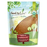 Food to Live Certified Organic Cocoa Powder (Natural, Non-Dutched, Non-GMO, Kosher, Unsweetened, Fair Trade, Bulk) (8 Ounces) (Tamaño: 8 Ounces)