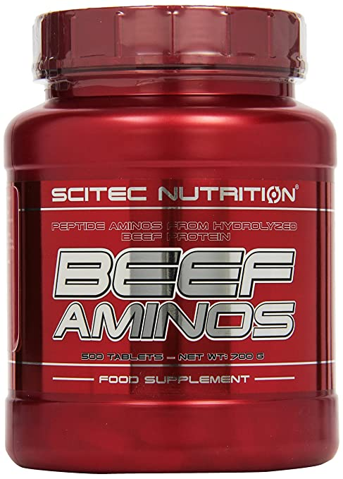 Scitec Nutrition Beef Amino 500 Tabletten, 1er Pack (1 x 700 g)