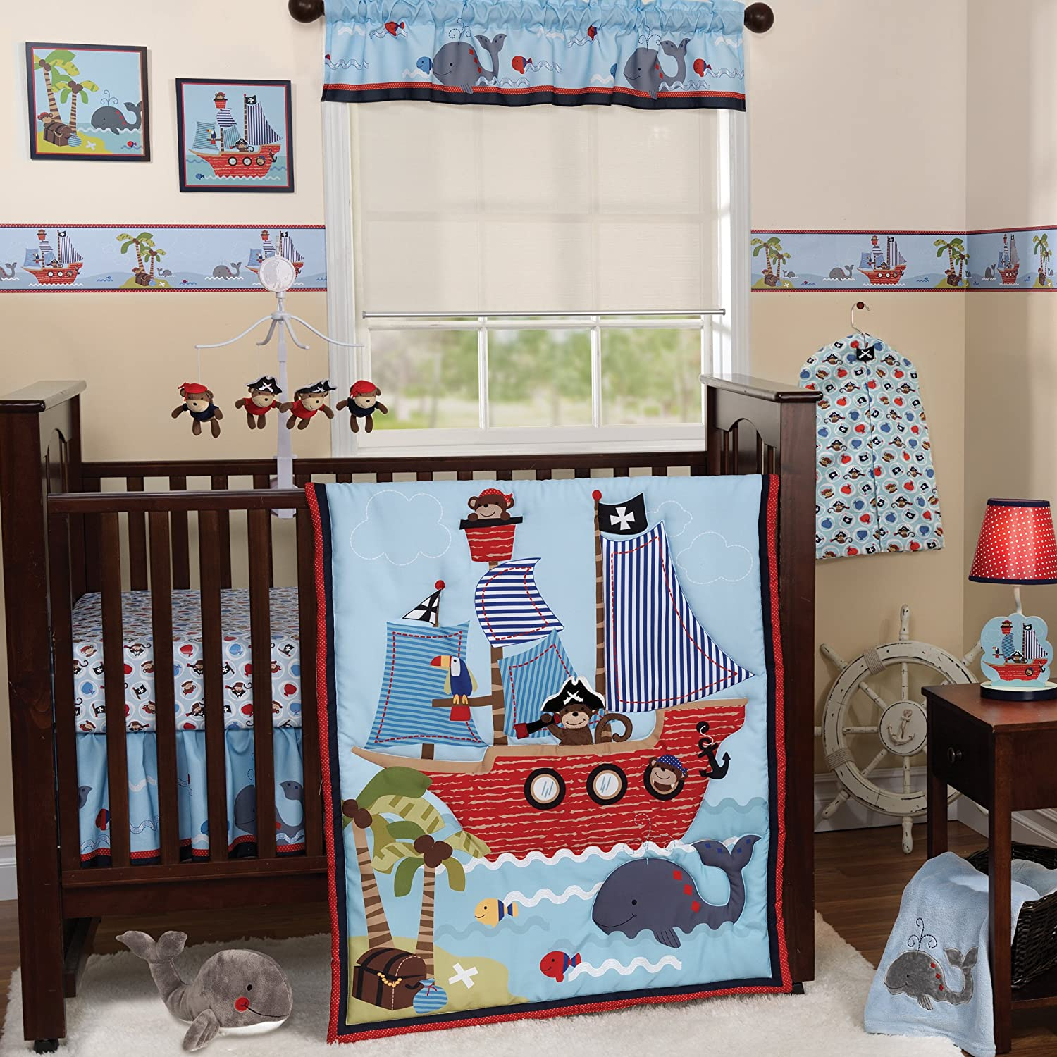 originals treasure island collection baby bedding and accessories