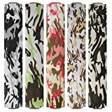 Firefly Craft Camouflage Heat Transfer Vinyl Bundle | Camo Pack HTV Vinyl Bundle | Iron On Vinyl for Cricut and Silhouette | Pack of 5 Rolls - 12