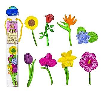 Miniatures en plastique Toobs-fleurs