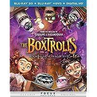 The Boxtrolls 3D on Blu-ray