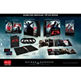 BATMAN v SUPERMAN Dawn Of Justice [3D Blu-ray + 2D Blu-ray HDZeta Exclusive Steelbook DOUBLE LENTICULAR Slip Edition; Region-Free; OOP Very Rare]