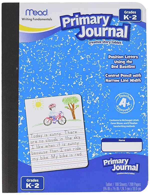 Mead Primary Journal Creative Story Tablet, Grades K-2 2 Pack