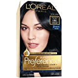 L'Oréal Paris Superior Preference Permanent Hair Color, 1BL Deep Blue Black (Color: Deep Blue Black, Tamaño: 1-Count)
