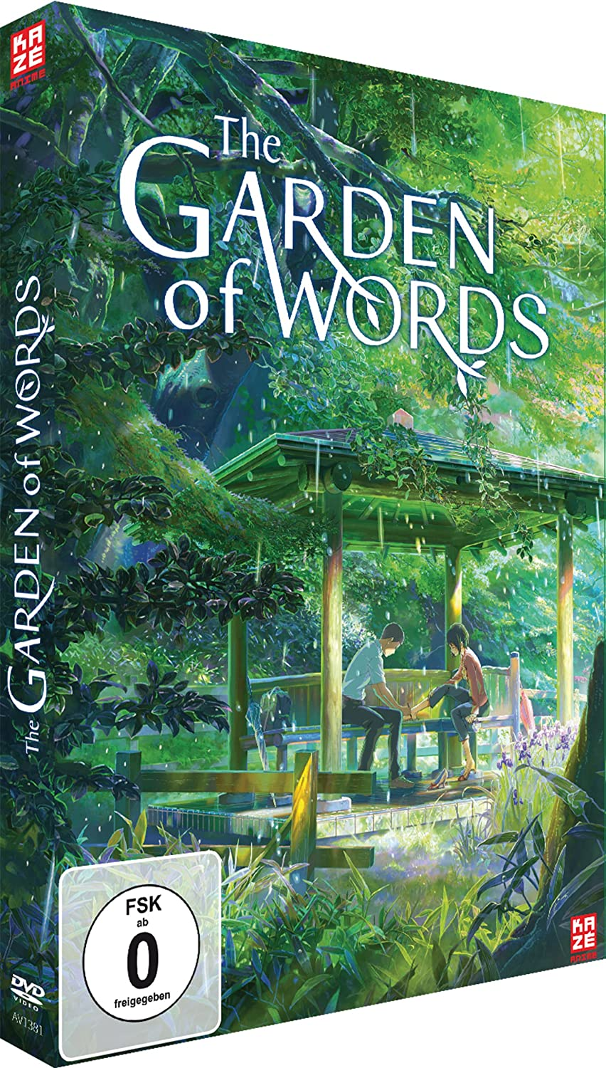 The Garden of Words, DVD