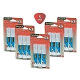 Scotch Restickable Glue Stick, 3-Pack (6307-3) 5 Pack