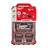 Milwaukee Shockwave 101 Piece Packout Impact Driver Bit Set