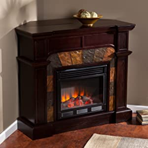 SEI Cartwright Convertible Electric Fireplace width=