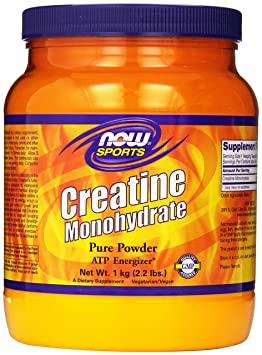 NOW Foods Creatine Powder, 2.2 Pounds