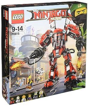 LEGO - 70615 - LEGO Ninjago - Jeu de Construction - L'Armure de Feu