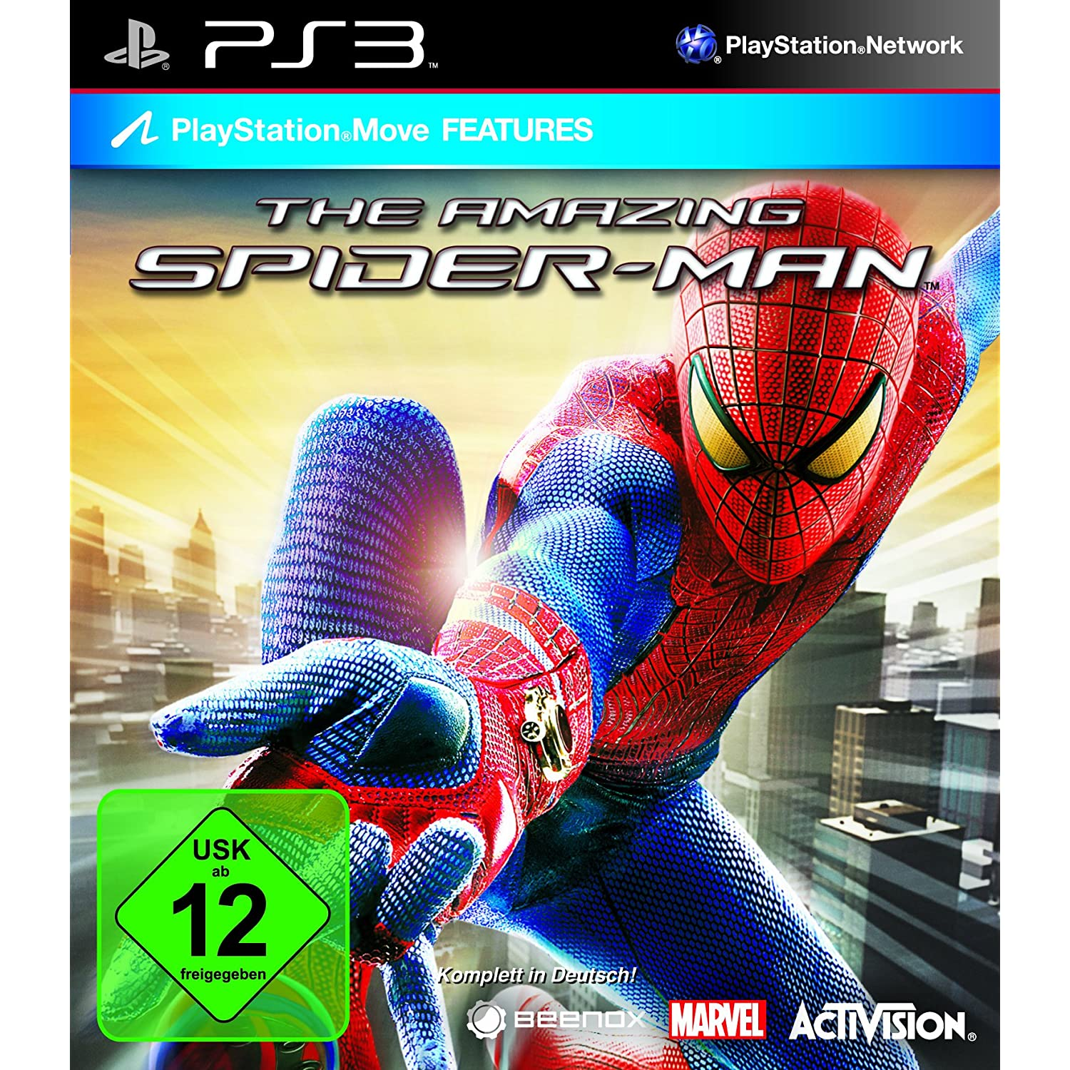 The Amazing Spiderman PS3 amazon