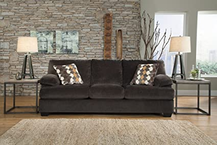 Signature Design by Ashley Kenzel Charcoal Sofa