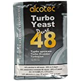 Alcotec 48 Hour Turbo Yeast, 135g (4 Packs) (Color: Orange, Tamaño: 1-(4 Packs))