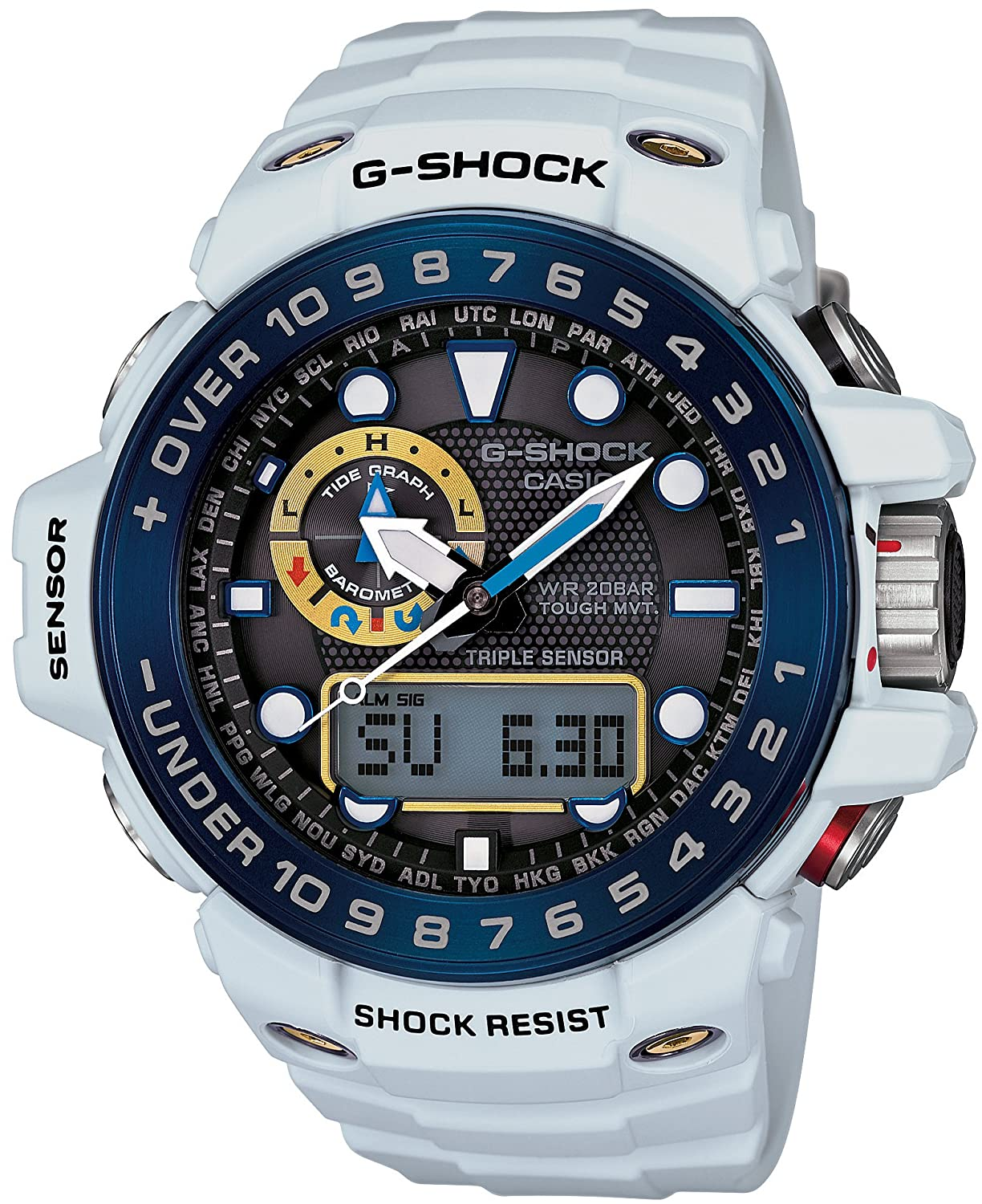 CASIO G-SHOCK GULFMASTER TOUGH MVT. MULTI BAND 6 GWN-1000E-8AJF men's Japan Model casio g shock gulfmaster tough mvt multi band 6 gwn 1000e 8ajf men s japan model