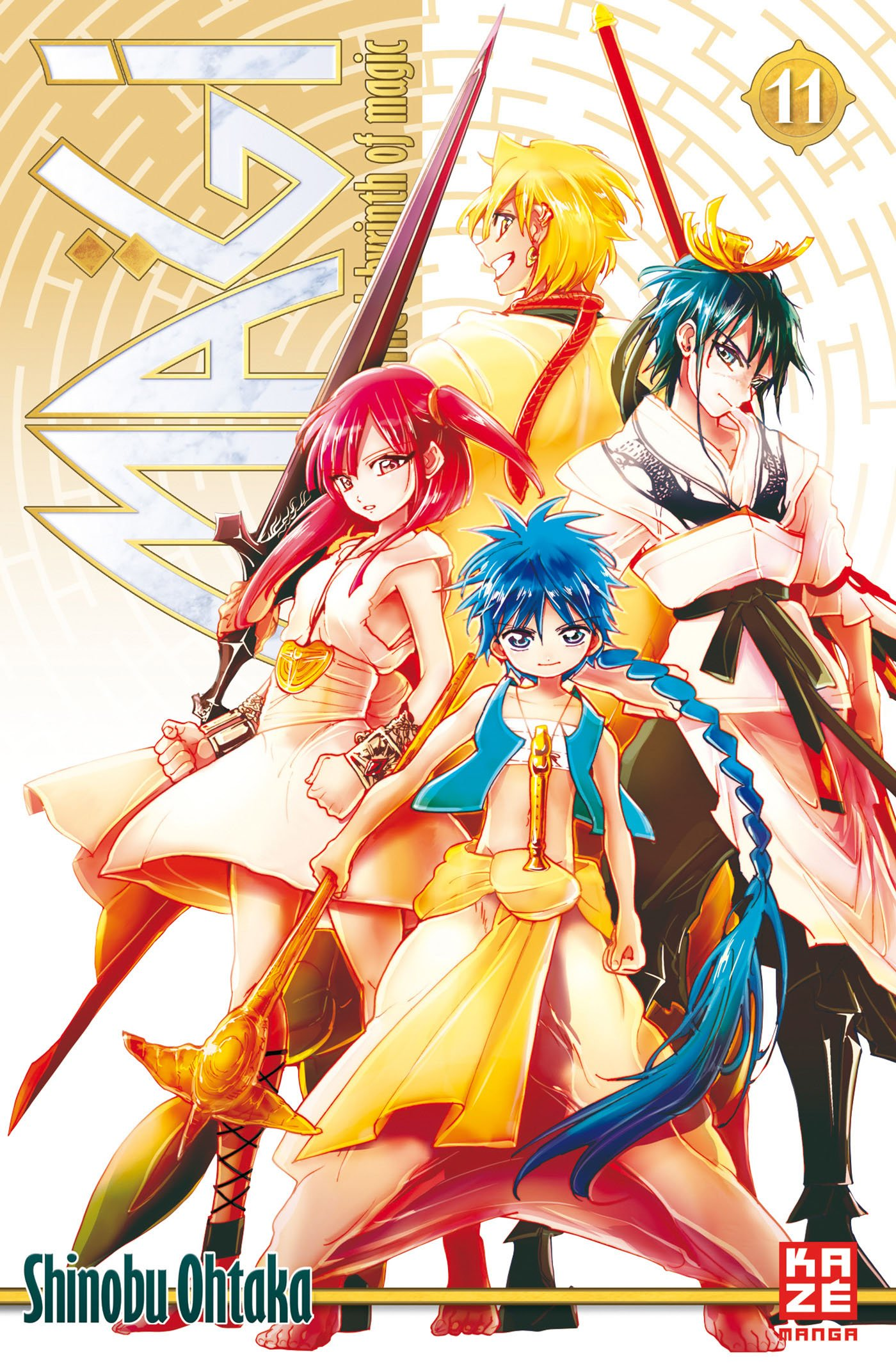 Magi – The Labyrinth of Magic, Band 11