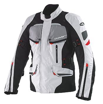 Clover 99171914_ 03Scout Veste de moto Noir/Blanc Taille M
