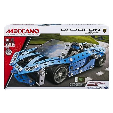 Meccano - 6036045 - Jeu de Construction - Voiture de Sport - Modèle Aléatoire
