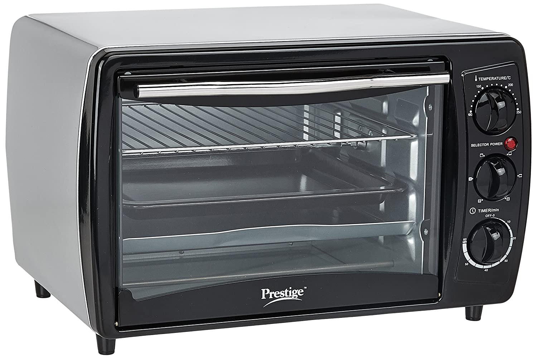 Prestige POTG 19 PCR 1380-Watt Oven Toaster Grill (Black) By Amazon @ Rs.2,960