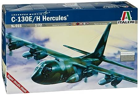 Italeri - I015 - Maquette - Aviation - C-130E/H Hercules - Echelle 1:72