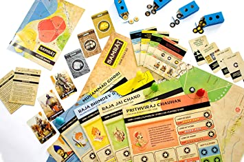 Kitki Samrat Fun Strategy Board Games For Adults Kids Based On Real Indian History