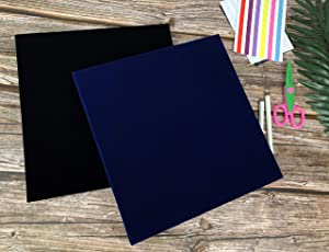 Black RECUTMS Self Adhesive Photo Album,Black Scrapbook Album Pages Free to Write Top Grade Scrapbook Kit Valentines Christmas Day Birthday Gifts for Mum Farther Girl Boy DIY Gift