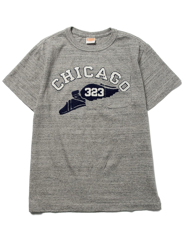 Amazon.co.jp: (ビームスボーイ) BEAMS BOY CHESWICK / CHICAGO-Tシャツ ONE SIZE H.GREY: 服&ファッション小物