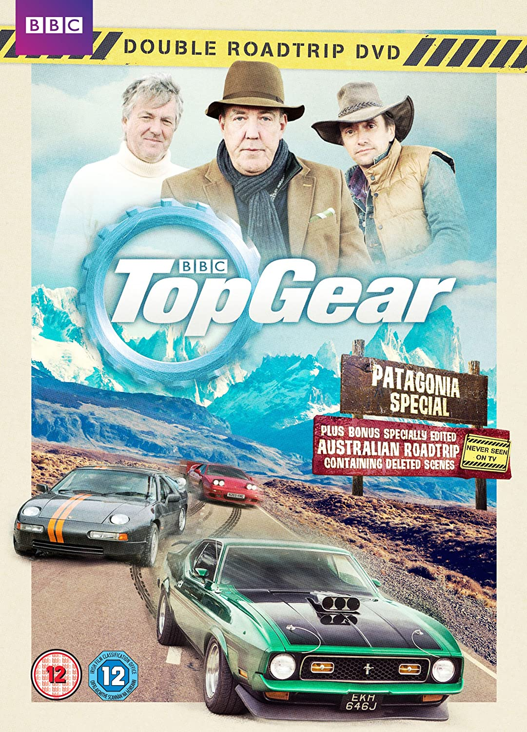top gear the patagonia special dvd blu ray the james may board. Black Bedroom Furniture Sets. Home Design Ideas