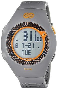 Soleus Turbo-Montre GPS-gris et Orange
