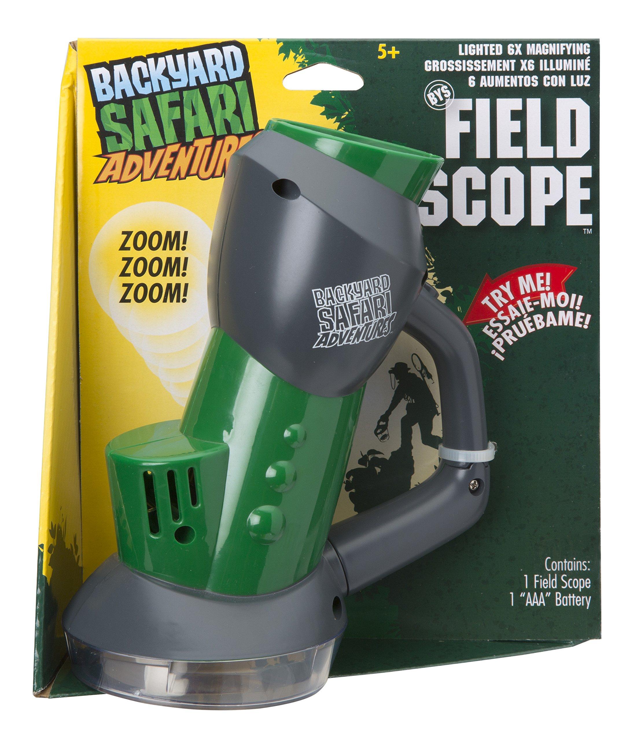 backyard safari field scope trap bugs under the scope for up close