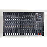 GTD-Audio 16 Channel 4000Watt Professional Powered Mixer Amplifier (1000 Watt RMS ) (Color: Black)