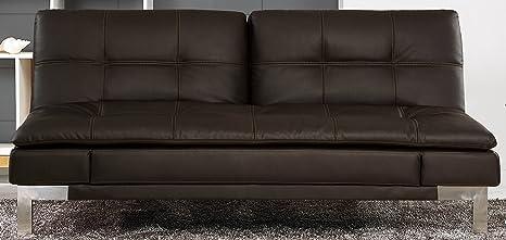 Serta Venza Convertible Sofa, Java