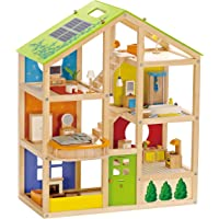 Hape All Season Furnished Wooden Doll House