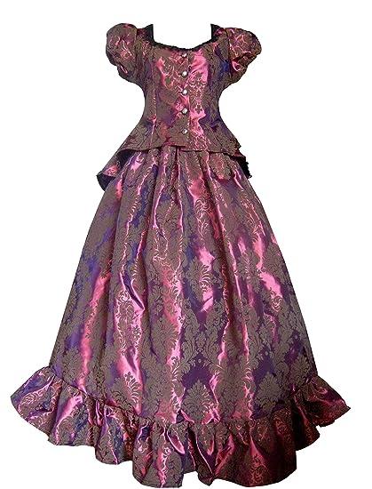 Victorian Civil War Fuschia Burgundy Top & Skirt Dress                                                              Victorian Valentine Victorian Civil War Fuschia Burgundy Top & Skirt Dress                               $138.00 AT vintagedancer.com